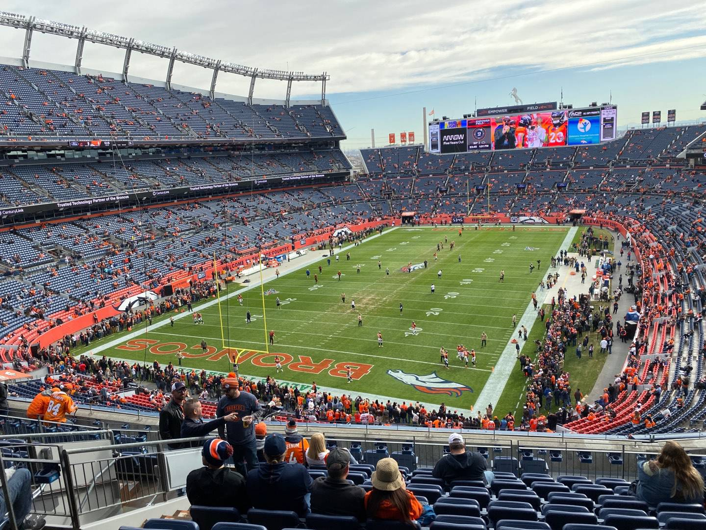Empower Field at Mile High Stadium Section 320 Row 13 Seat 14