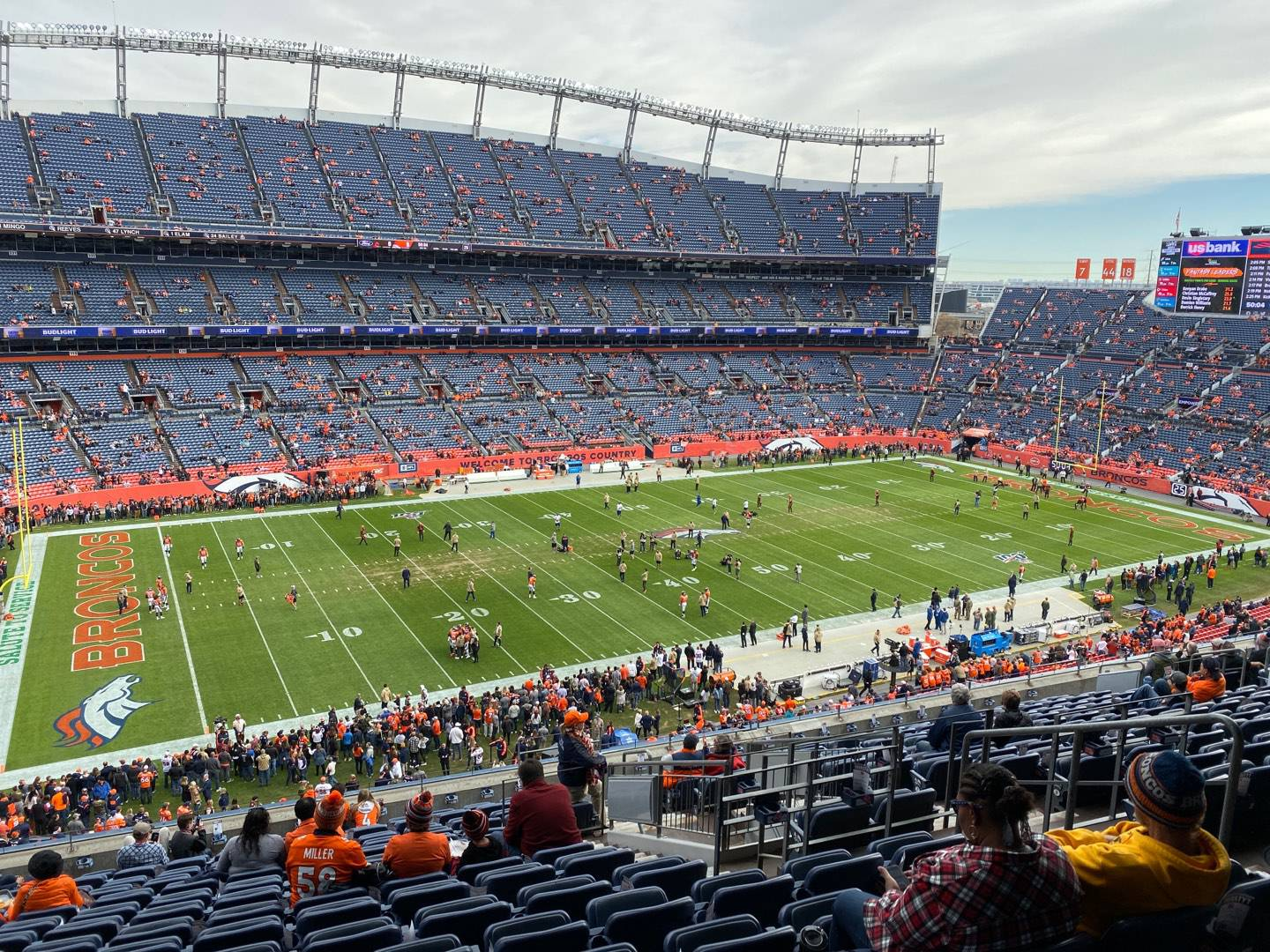 Empower Field at Mile High Stadium Section 314 Row 16 Seat 7