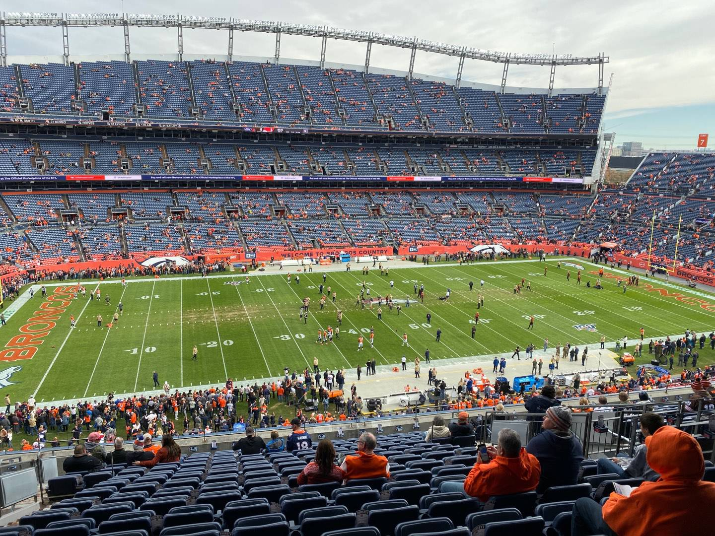 Empower Field at Mile High Stadium Section 312 Row 16 Seat 10