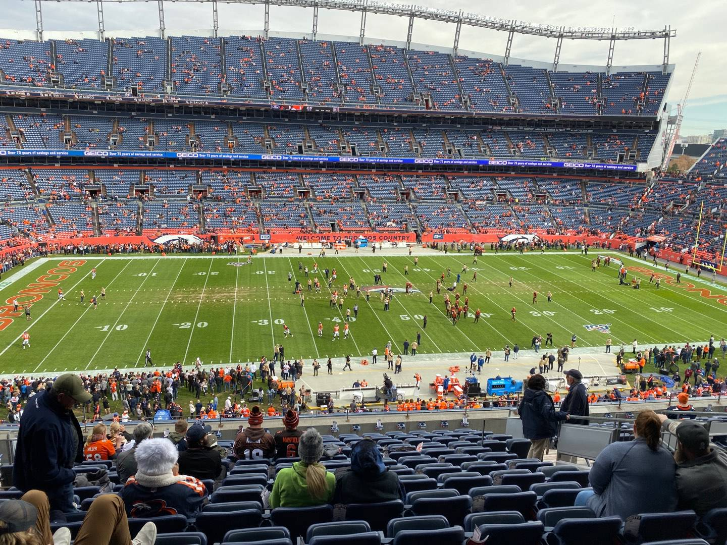 Empower Field at Mile High Stadium Section 311 Row 14 Seat 9