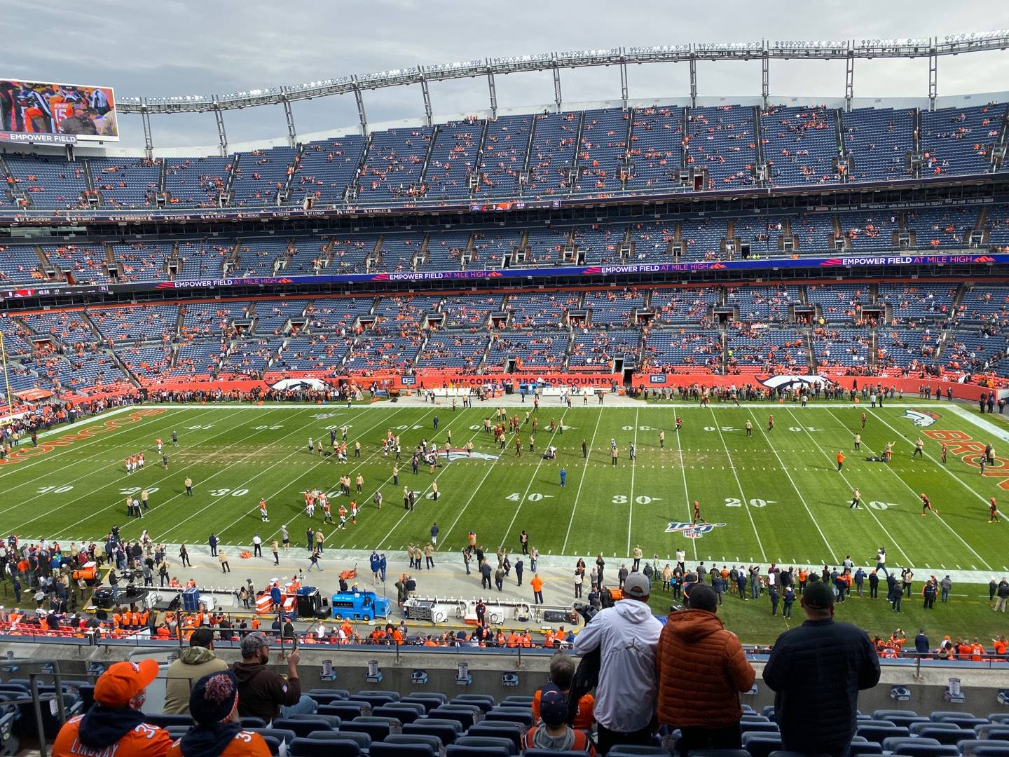 Empower Field at Mile High Stadium Section 307 Row 10 Seat 7
