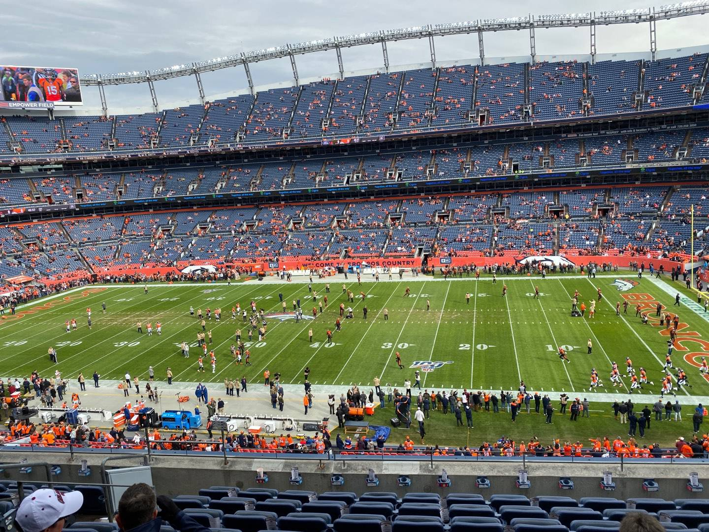 Empower Field at Mile High Stadium Section 306 Row 9 Seat 7