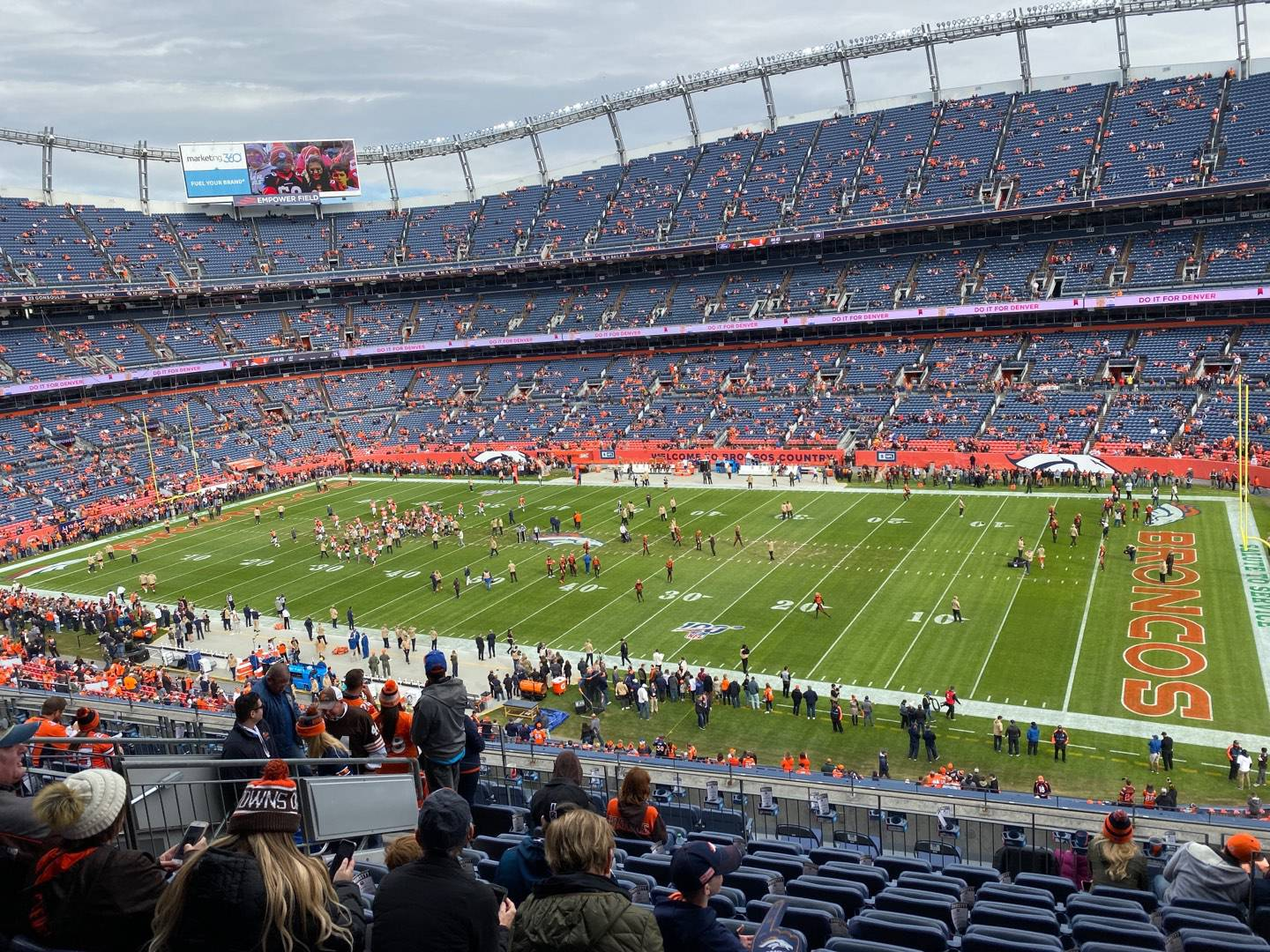 Empower Field at Mile High Stadium Section 304 Row 13 Seat 5