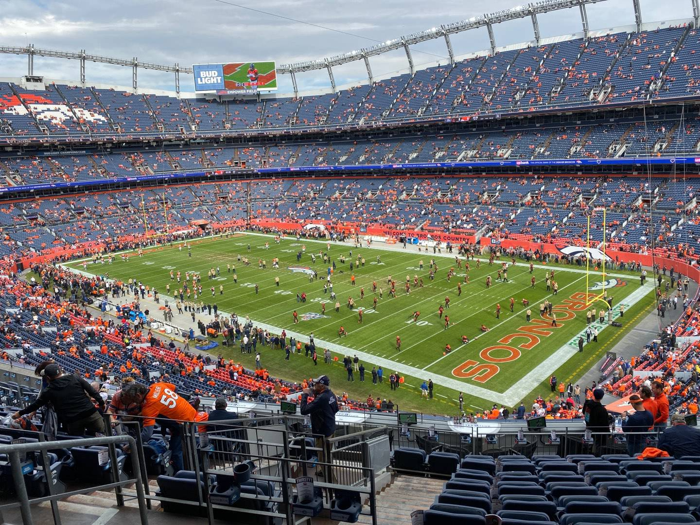 Empower Field at Mile High Stadium Section 301 Row 14 Seat 17