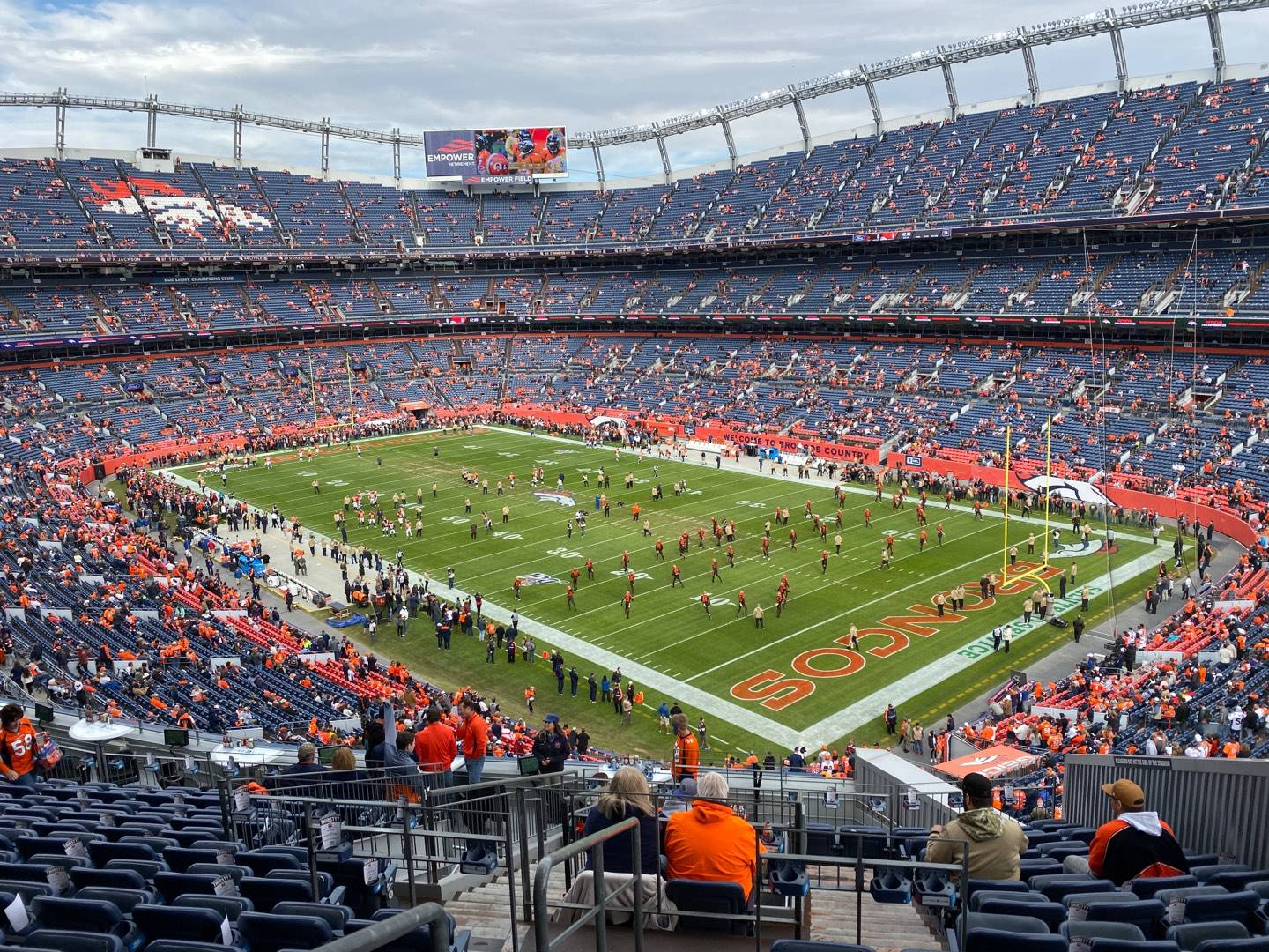 Empower Field at Mile High Stadium Section 300 Row 16 Seat 8