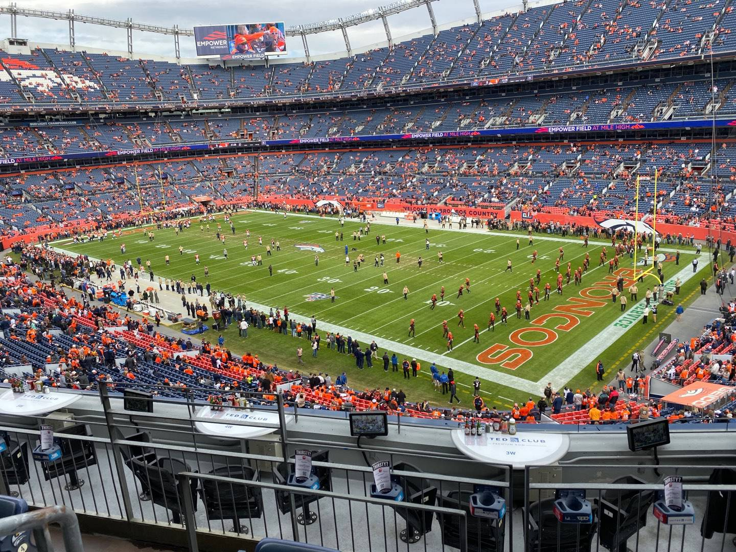 Empower Field at Mile High Stadium Section 301 Row 7 Seat 18