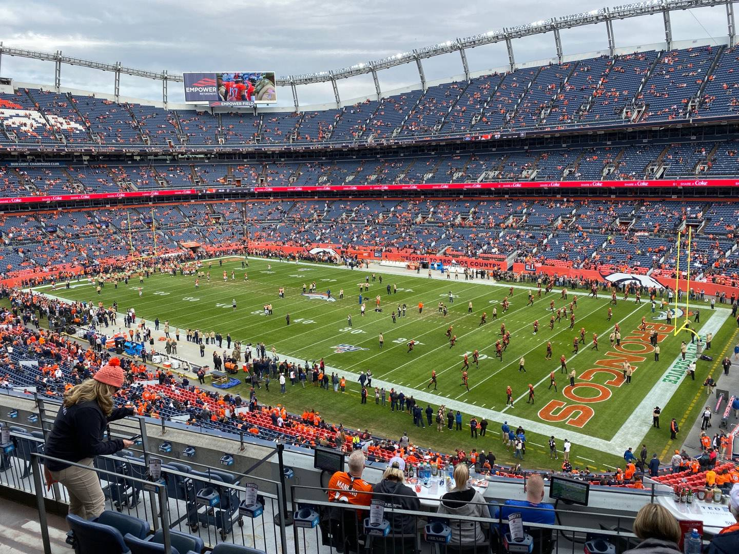 Empower Field at Mile High Stadium Section 302 Row 8 Seat 8
