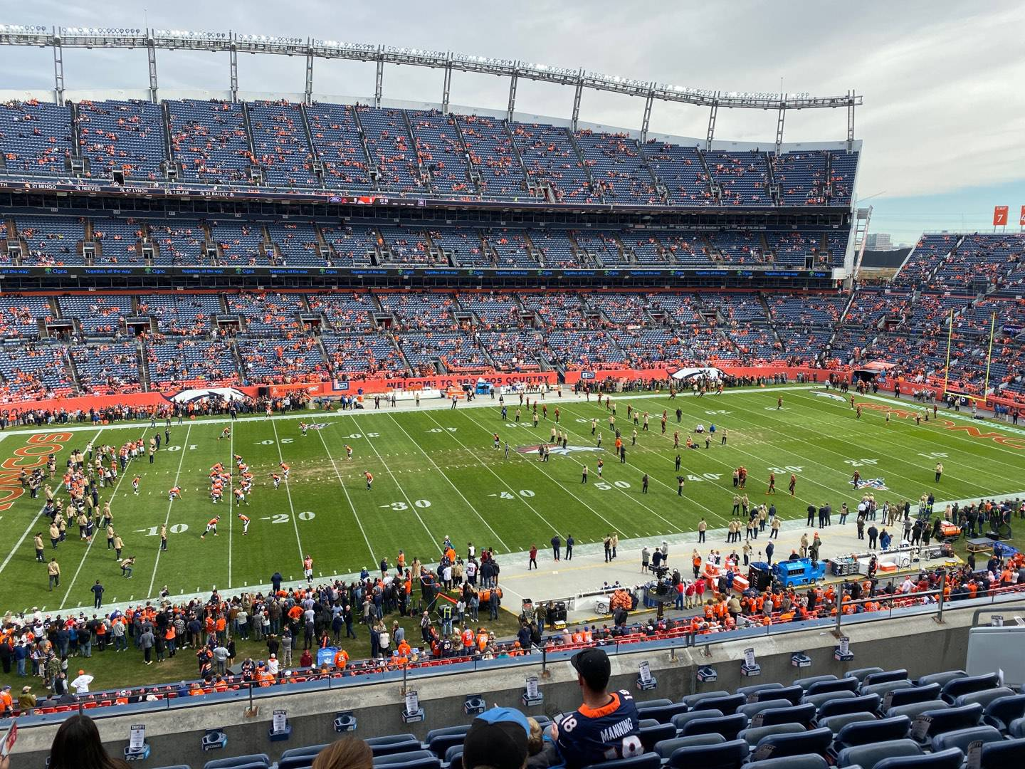 Empower Field at Mile High Stadium Section 312 Row 8 Seat 8