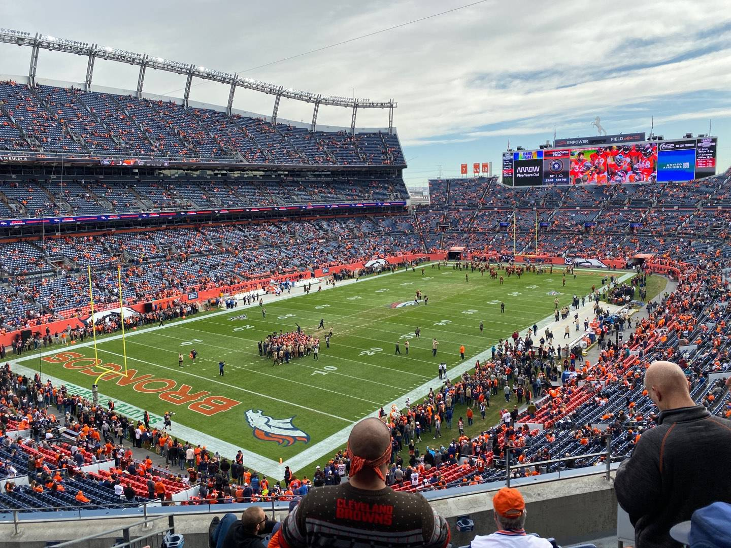 Empower Field at Mile High Stadium Section 318 Row 5 Seat 3