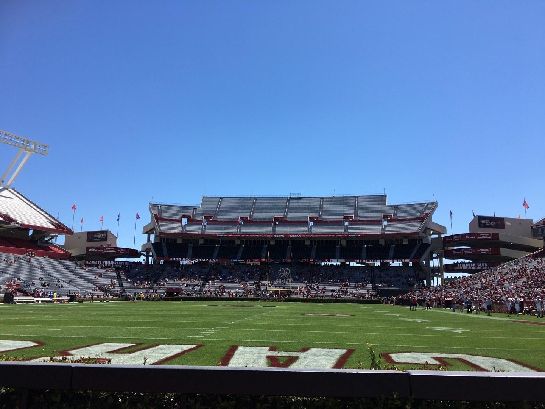 Williams-Brice Stadium Section 32 Row 3 Seat 6