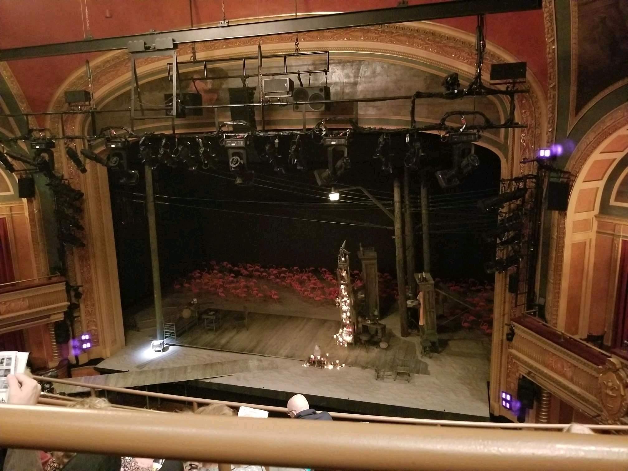 American Airlines Theatre Section Rear Mezzanine Row E Seat 111
