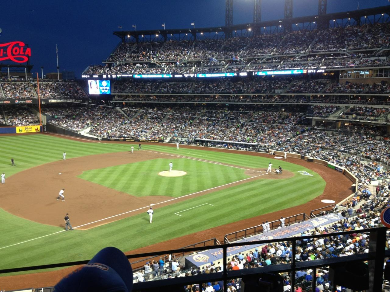 Citi Field section 329 row 2 seat 12 - New York Mets vs ...