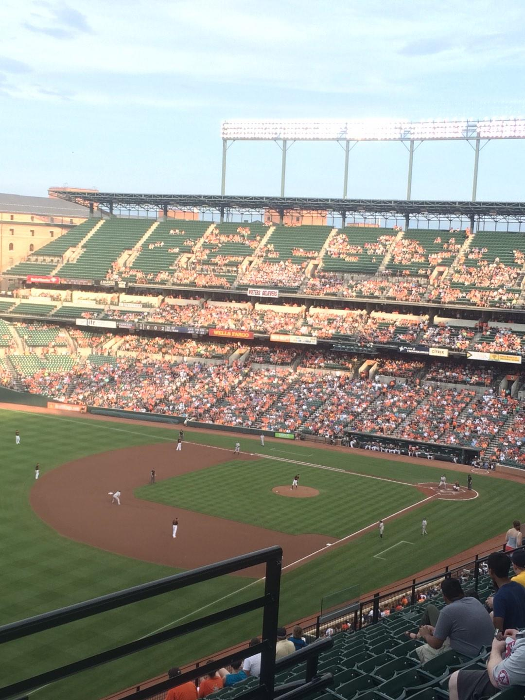 Oriole Park at Camden Yards Section 370 Row 14 Seat 3