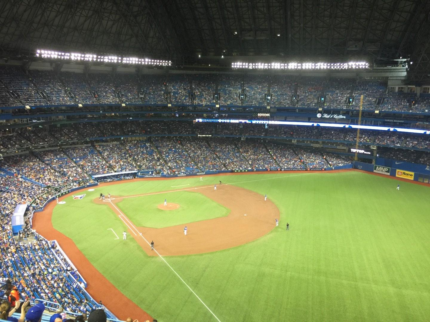 Rogers Centre Section 511L Row 14 Seat 102