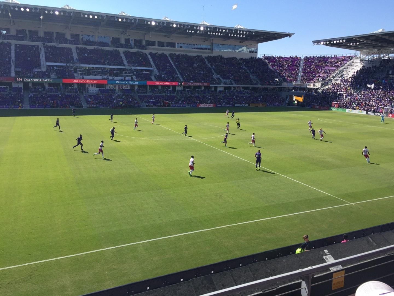 Exploria Stadium Section 135 Row 2 Seat 22