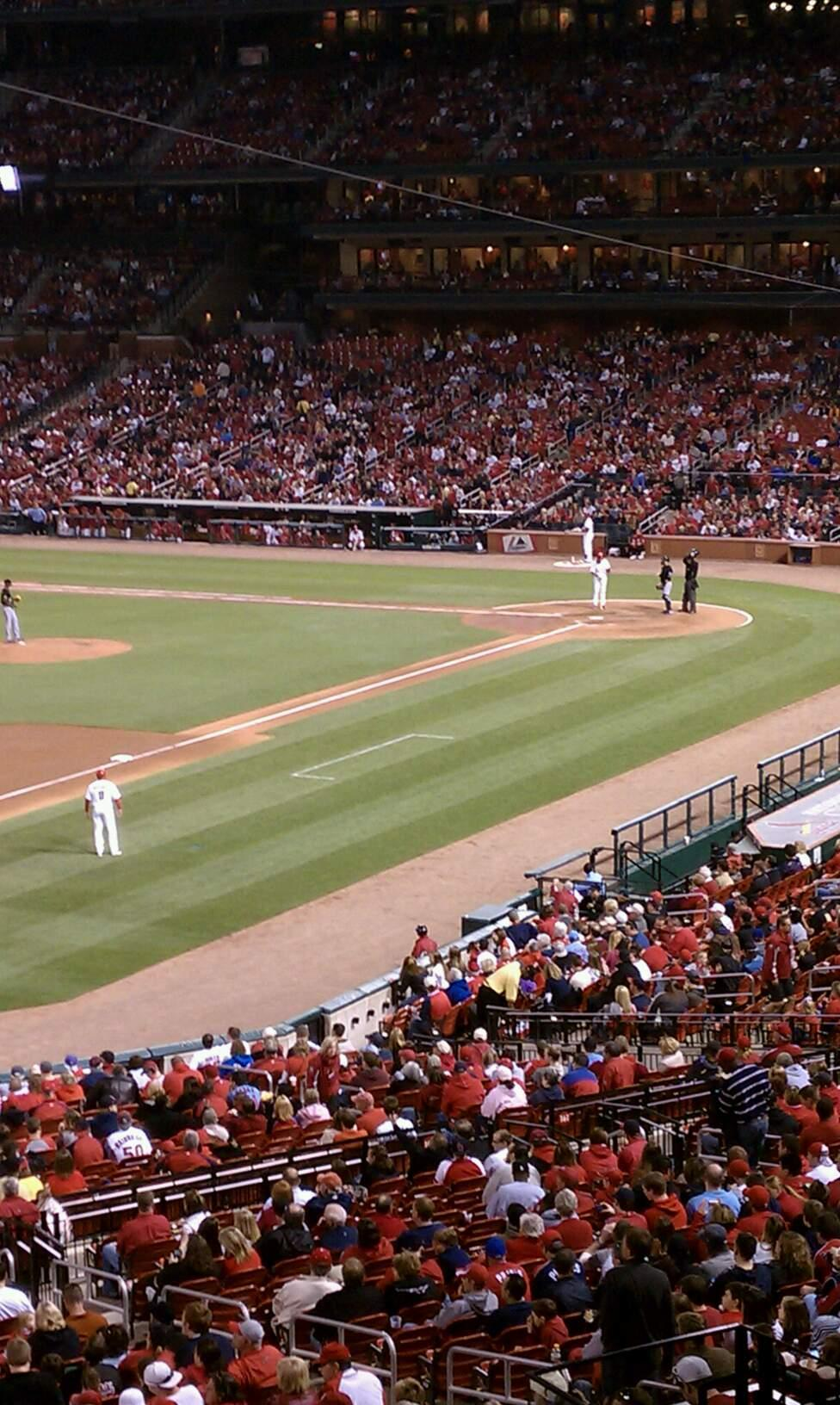 Busch Stadium Section Champions Club 11 Row A Seat 3
