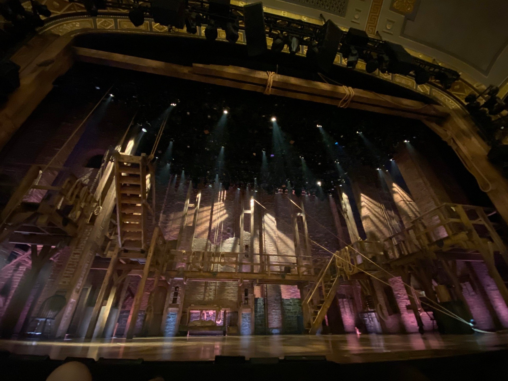 Richard Rodgers Theatre Section Orchestra C Row B Seat 109