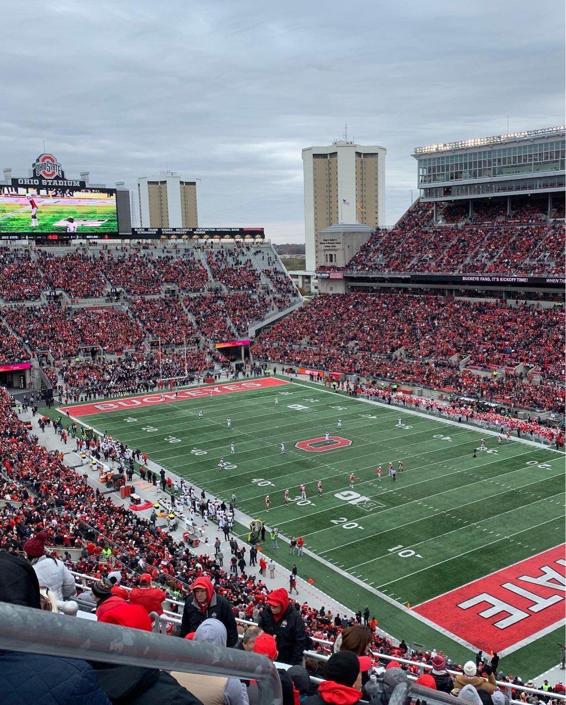 Ohio Stadium Section 10C Row 15 Seat 31