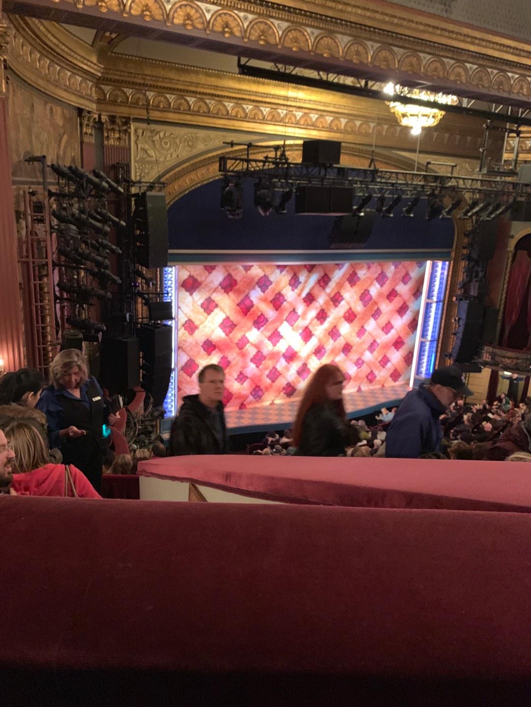 Brooks Atkinson Theatre Section Mezz Row H Seat 11