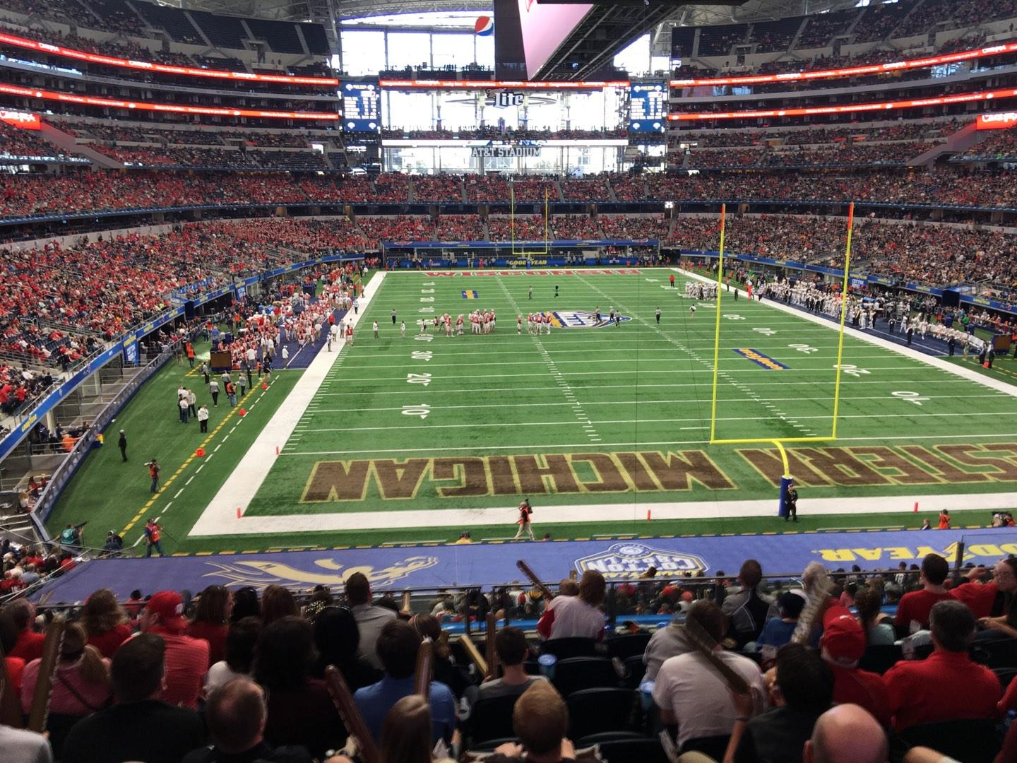 AT&T Stadium Section 249 Row 9  Seat 10