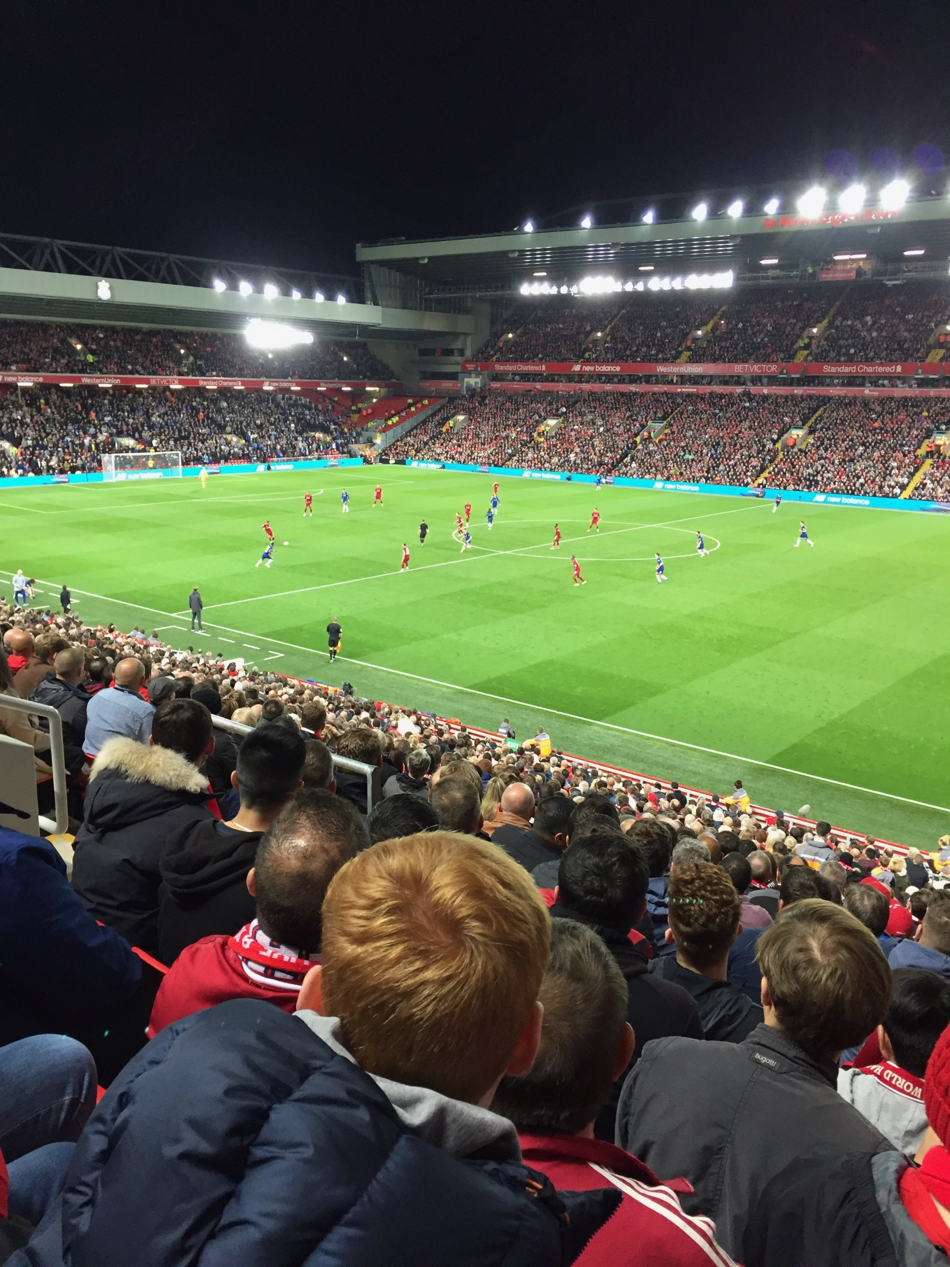 Anfield Section L16 Row 36 Seat 0215