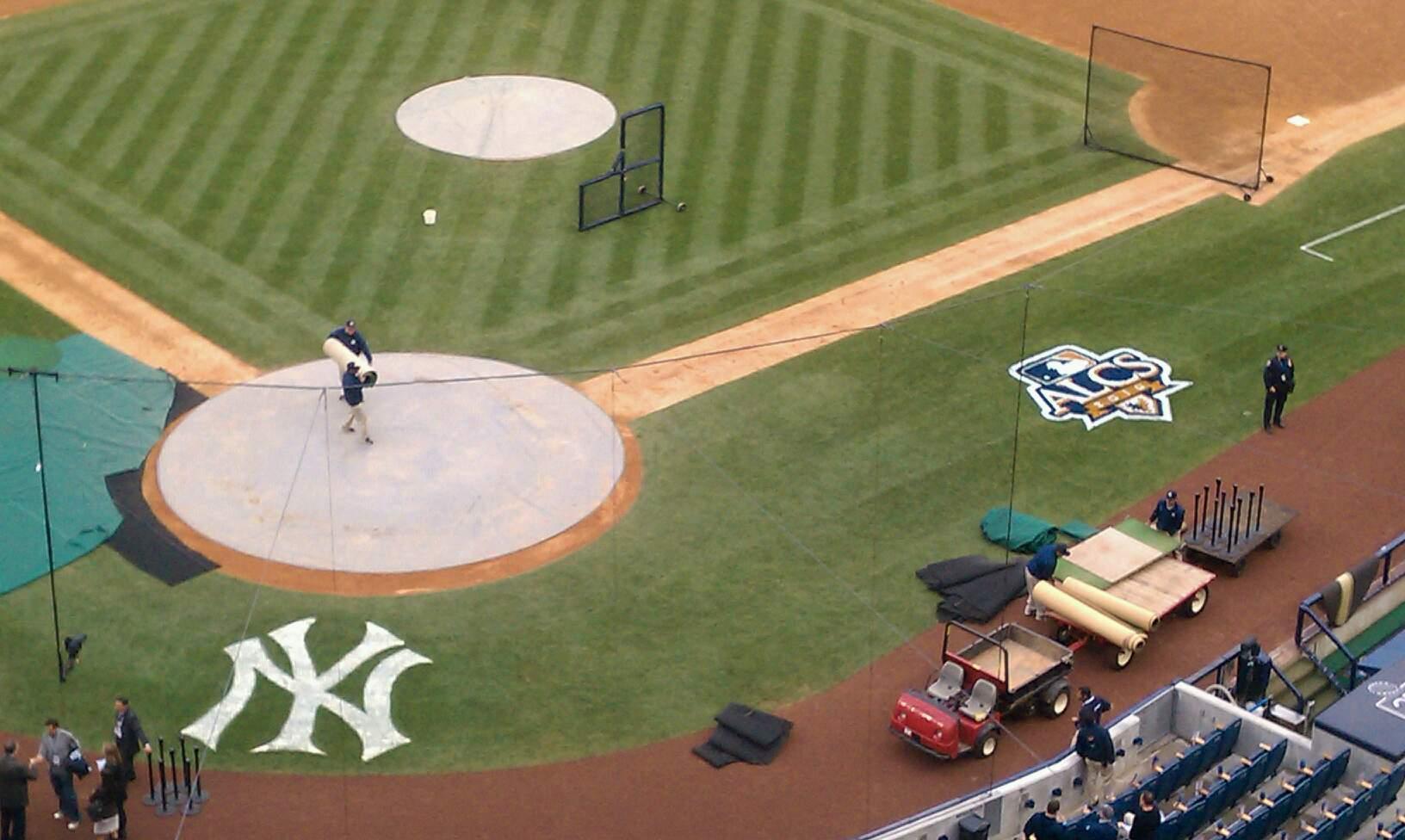 Yankee Stadium Section 420a Row 15 Seat 1