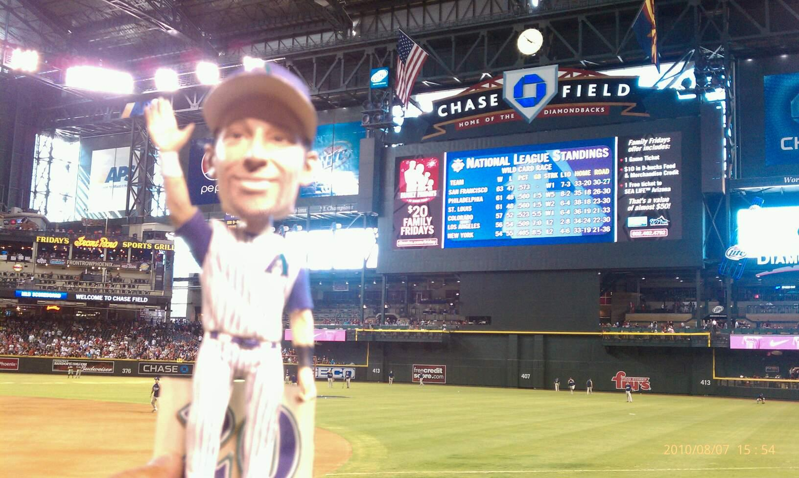 Chase Field Section A Row E Seat 1