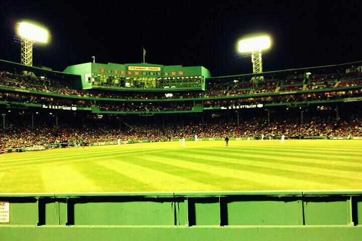 Fenway Park Section Bleacher 41 Row 1 Seat 2