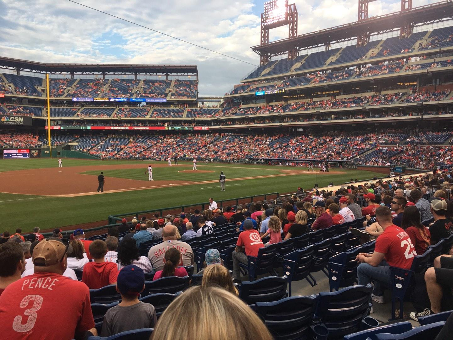 Citizens Bank Park Section 134 Row 20 Seat 6