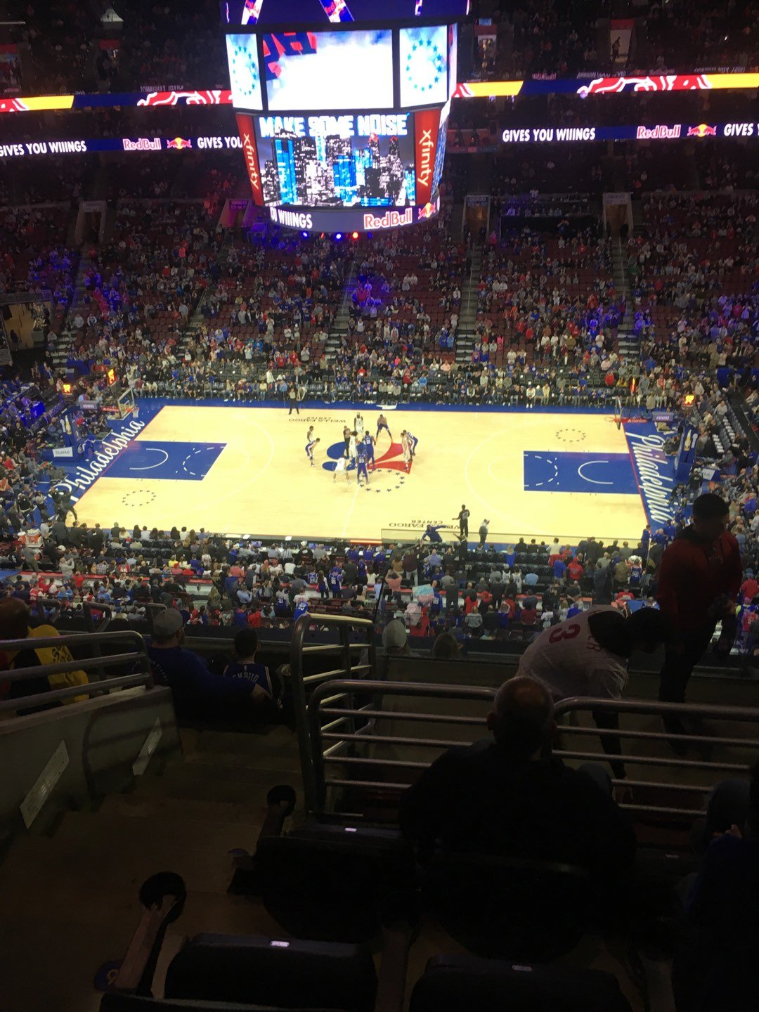 Wells Fargo Center Section 202 Row 8 Seat 5