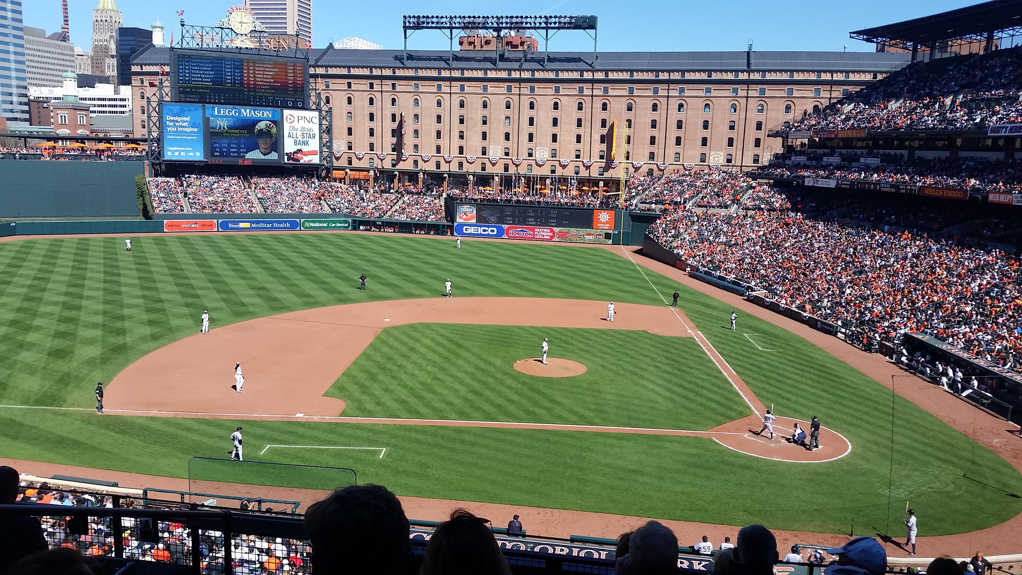 Oriole Park at Camden Yards Section 246 Row 7 Seat 13