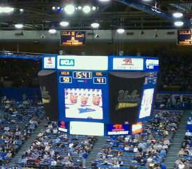 Pauley Pavilion Section 304A Row 5 Seat 6