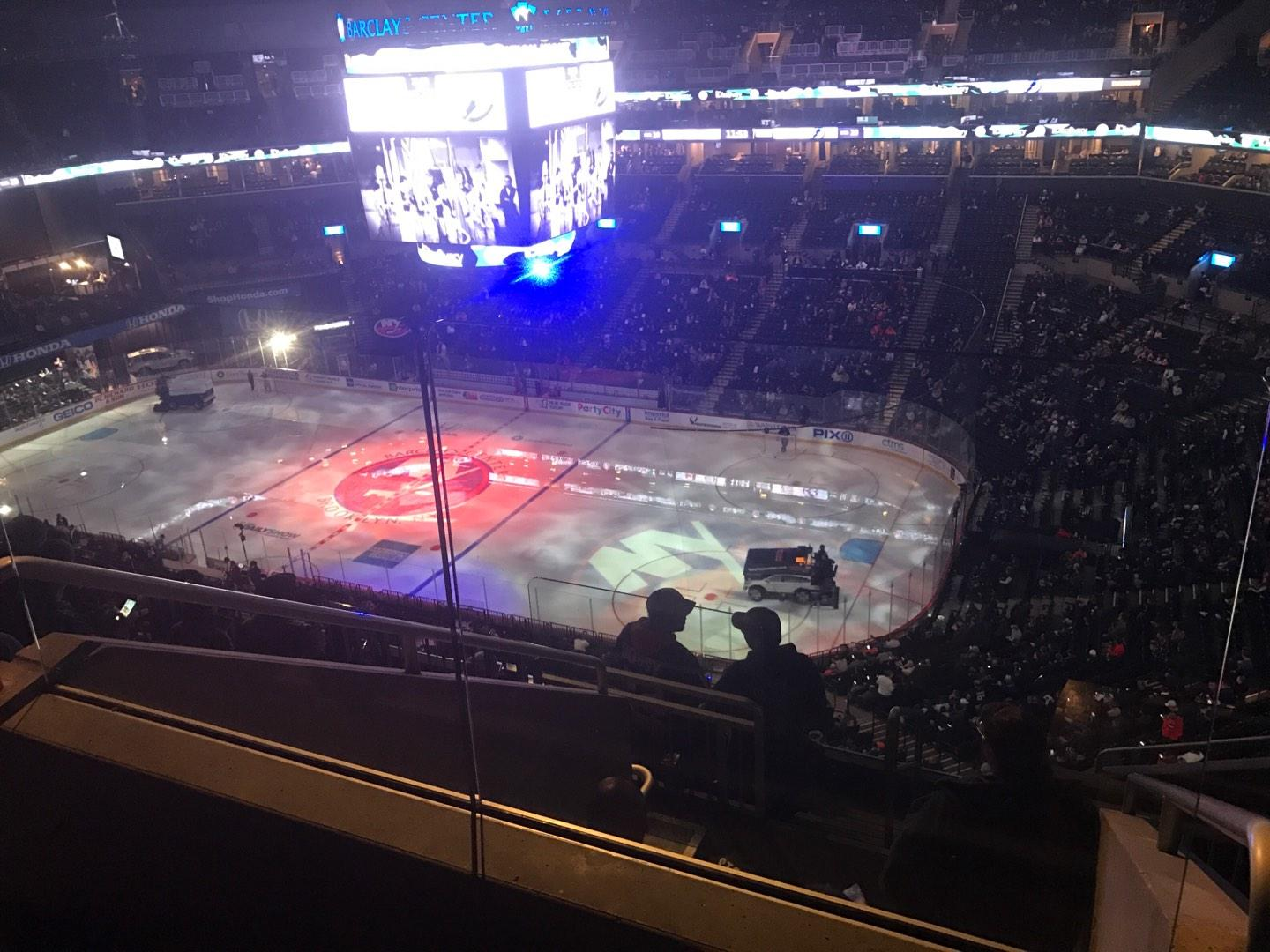 Barclays Center Section 221 Row 8 Seat 13