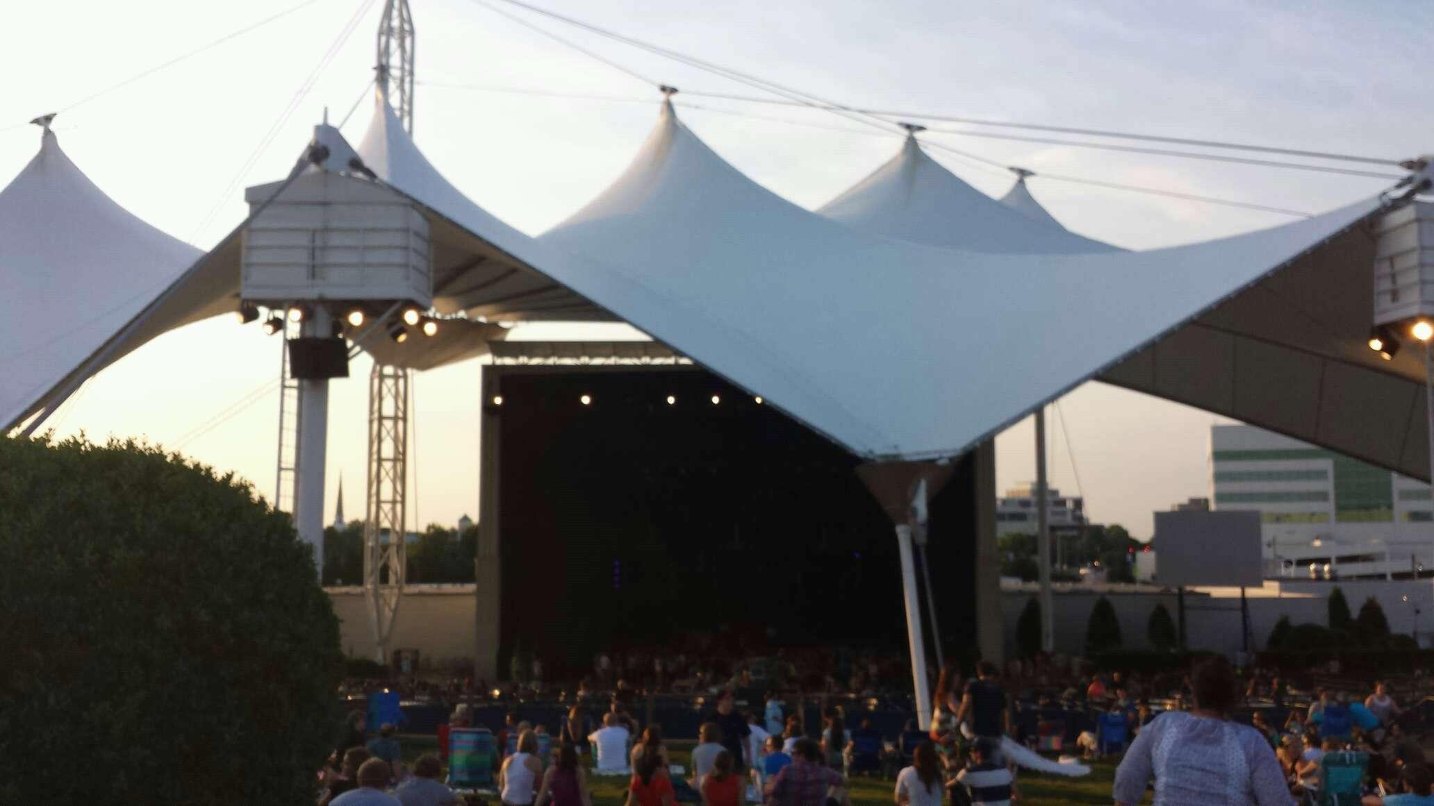 Ntelos Wireless Pavilion Portsmouth Lawn Rateyourseats Com