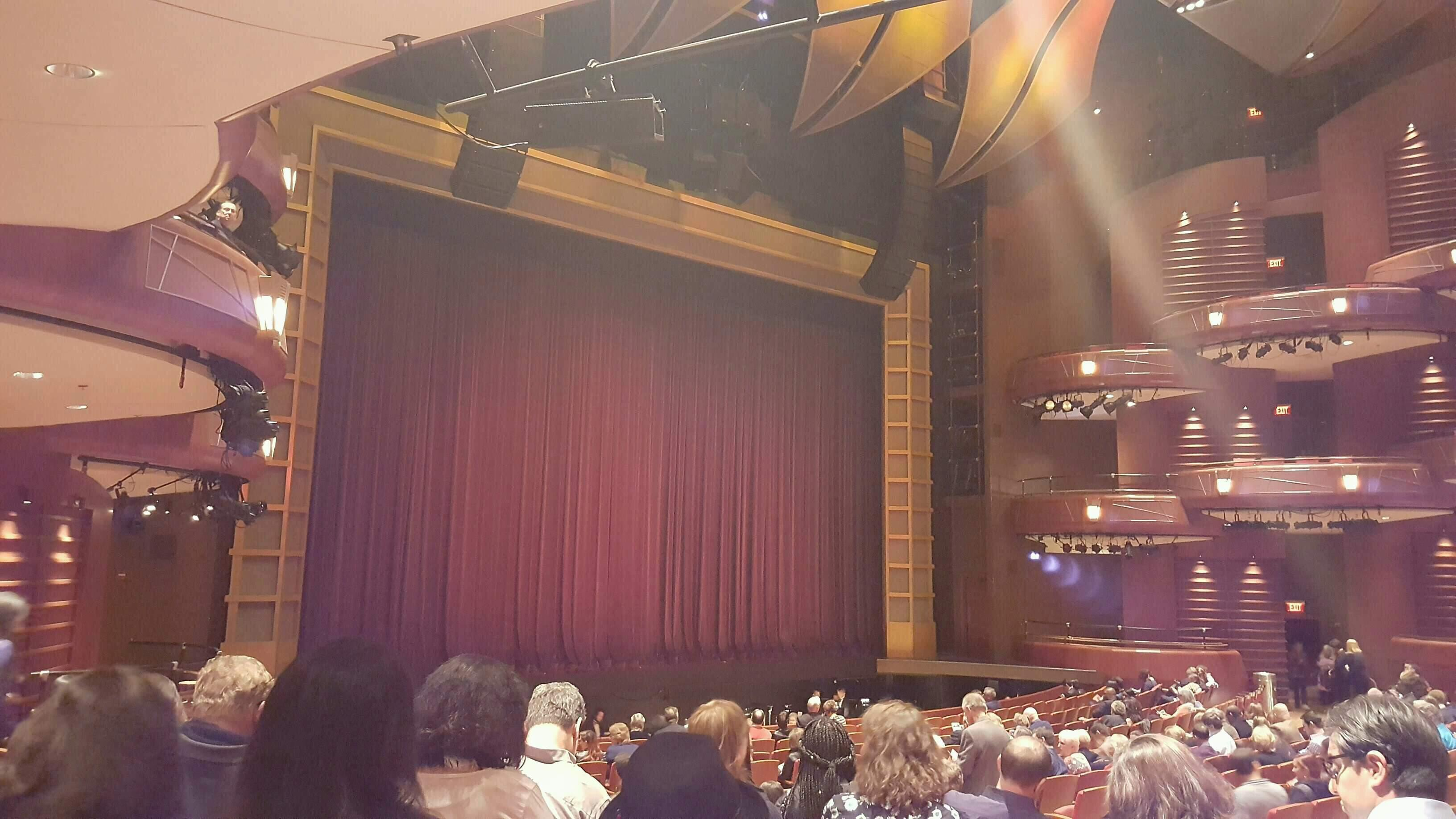 Cobb Energy Performing Arts Centre Section L-Orch Row W Seat 27