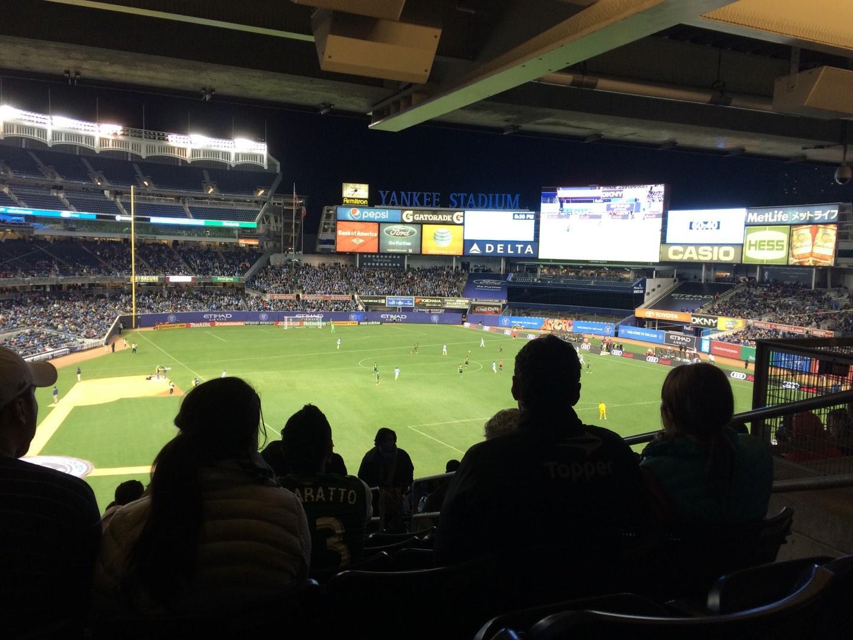 Yankee Stadium Section 217 New York City Fc