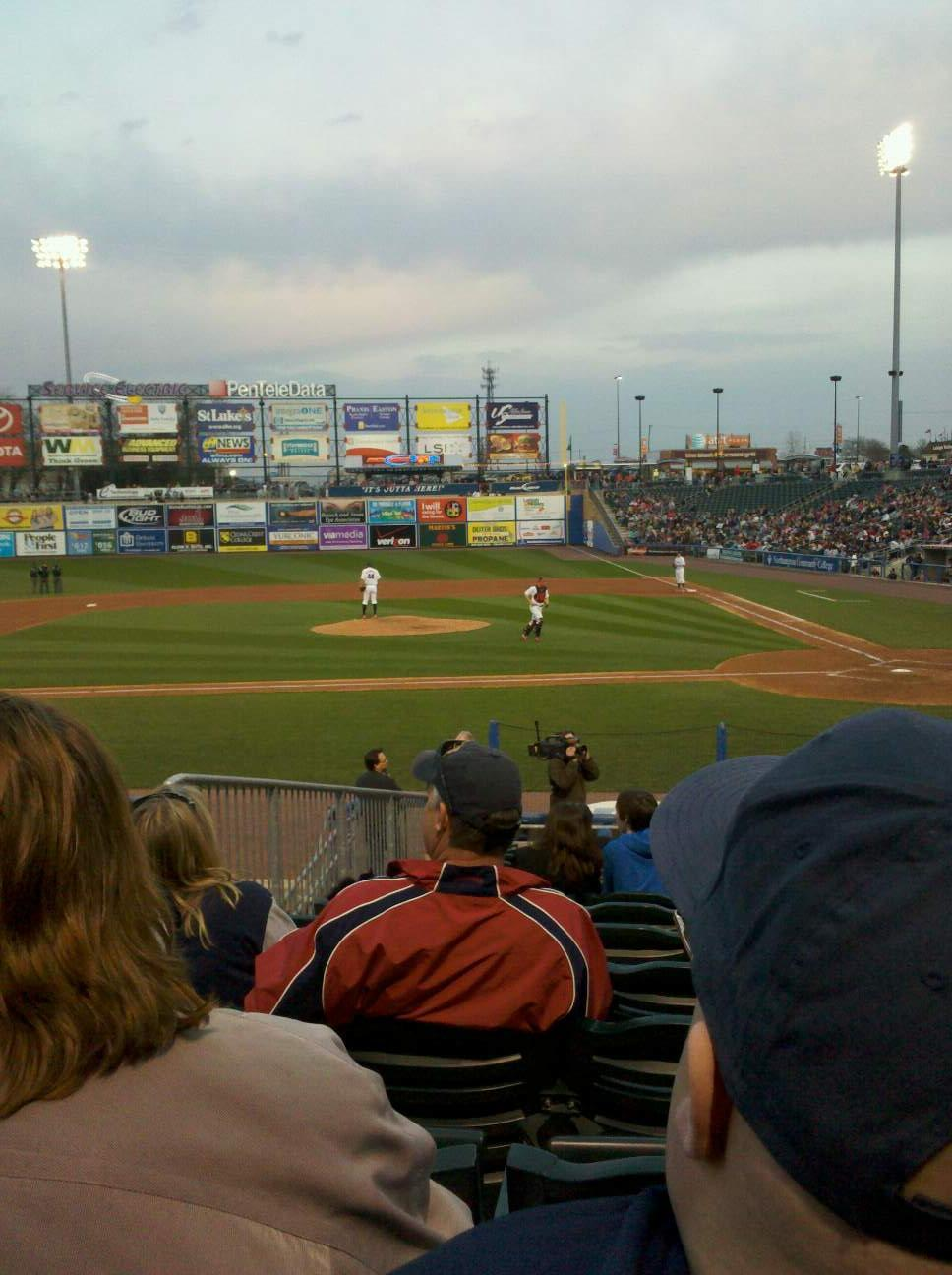 Coca-Cola Park Section 116 Row R Seat 9