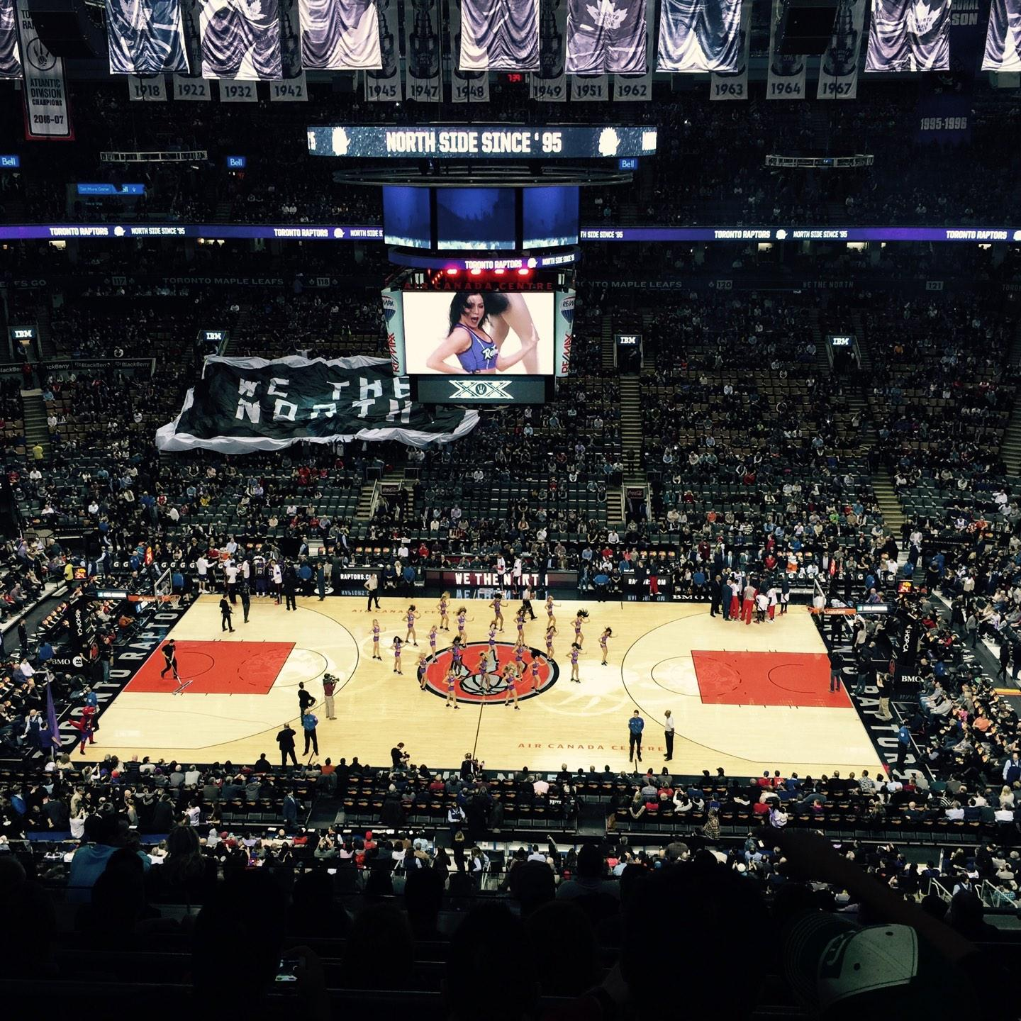 Toronto Raptors Seat View for Air Canada Centre Section 309, Row 11, Seat 6