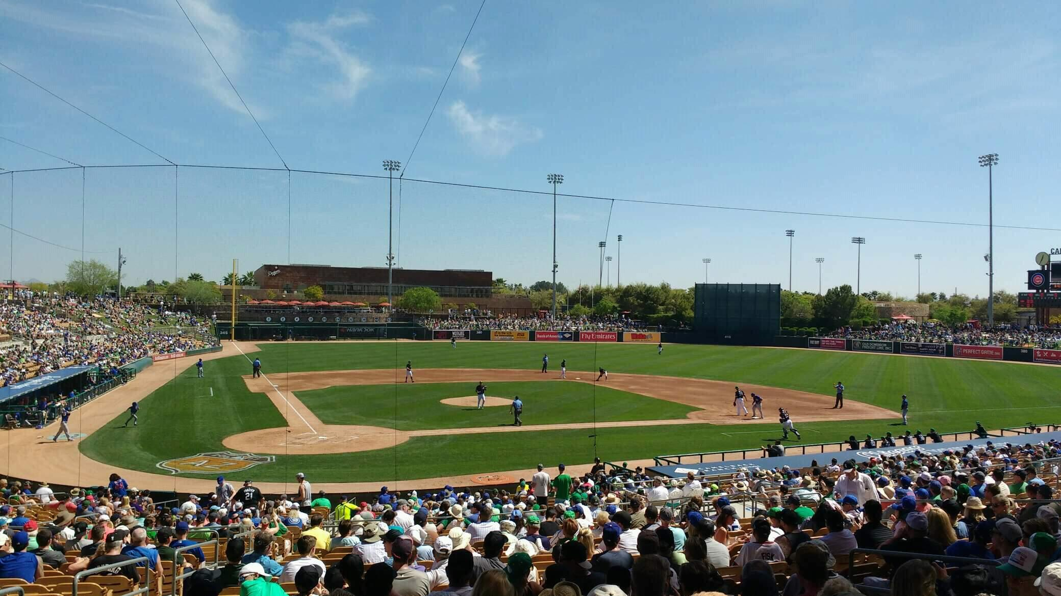 Camelback Ranch Section 112 Row wch