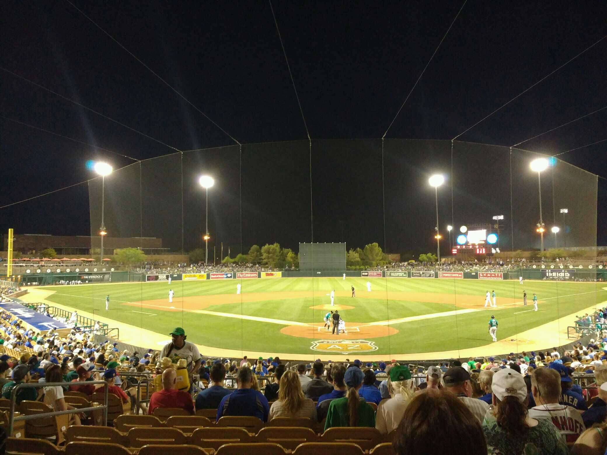 Camelback Ranch Section 115 Row 14 Seat 12