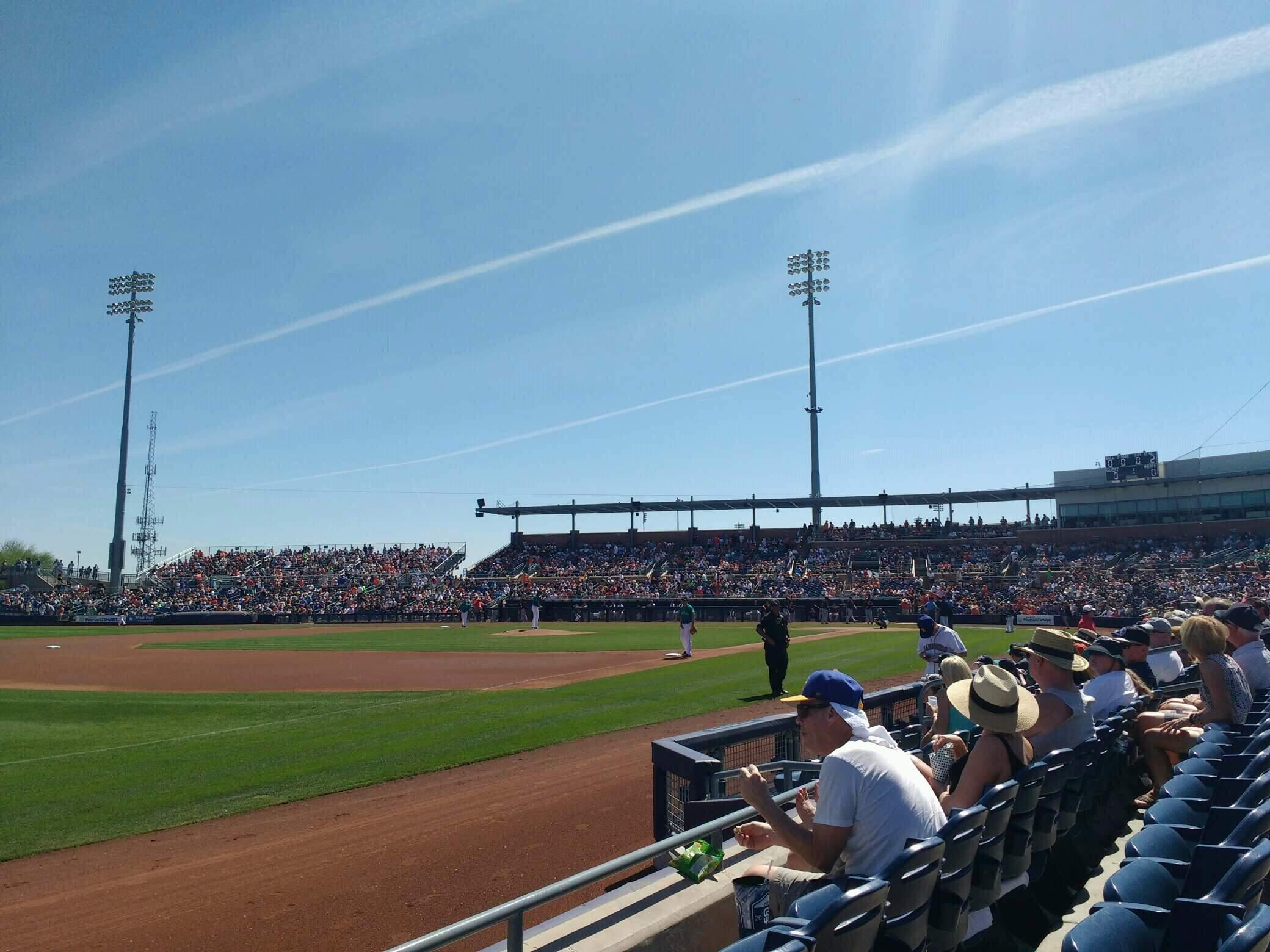 Peoria Sports Complex Section 119 Row e Seat 17