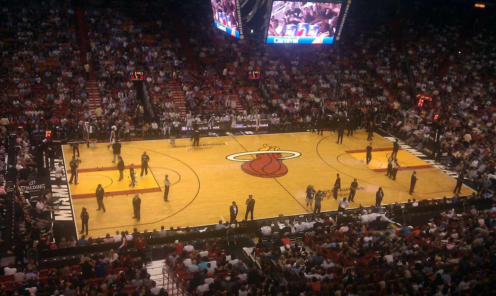 Miami Heat Americanairlines Arena Section 326