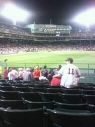 Fenway Park Section Bleacher 42 Row 8