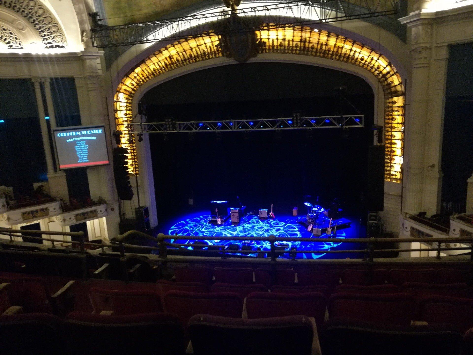 Orpheum Theatre (Boston) Section Balcony RC Row H Seat 108