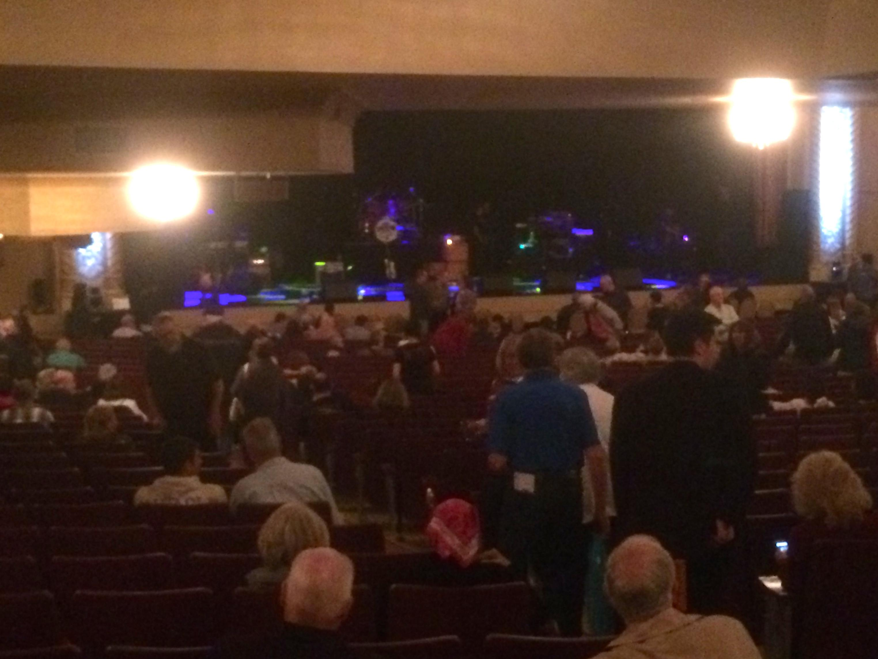 Genesee Theatre Section ORCH L Row EE Seat 5