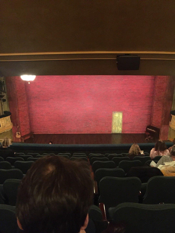 Shubert Theatre Section Mezzanine C Row J Seat 108, 109