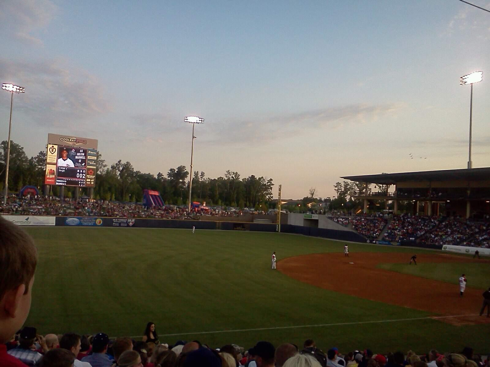 Coolray Field Section 118 Row t Seat 2