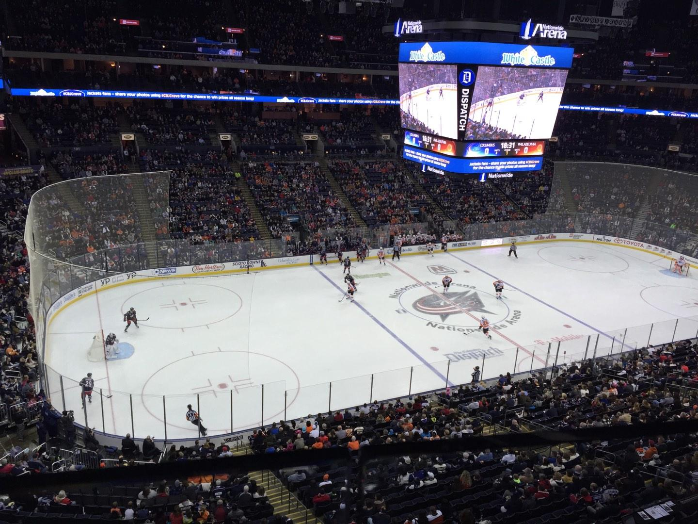 Nationwide Arena Section 219 - Columbus Blue Jackets - RateYourSeats.com