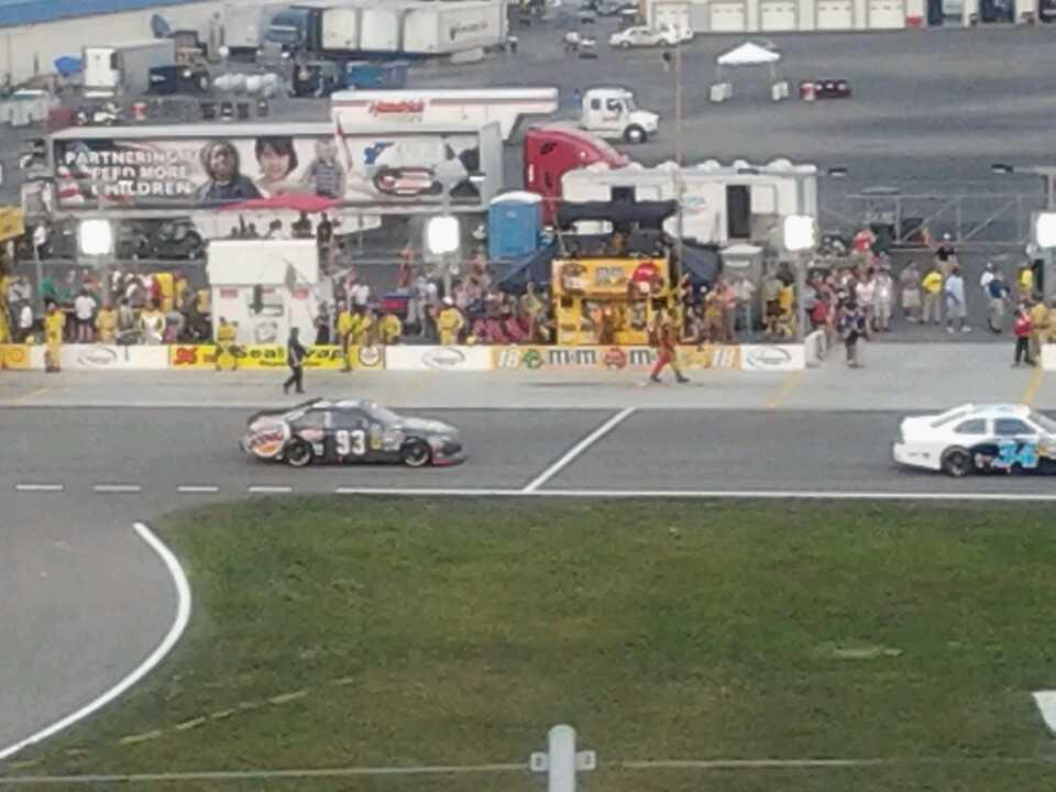 Kentucky Speedway Section 3f Row 10 Seat 6