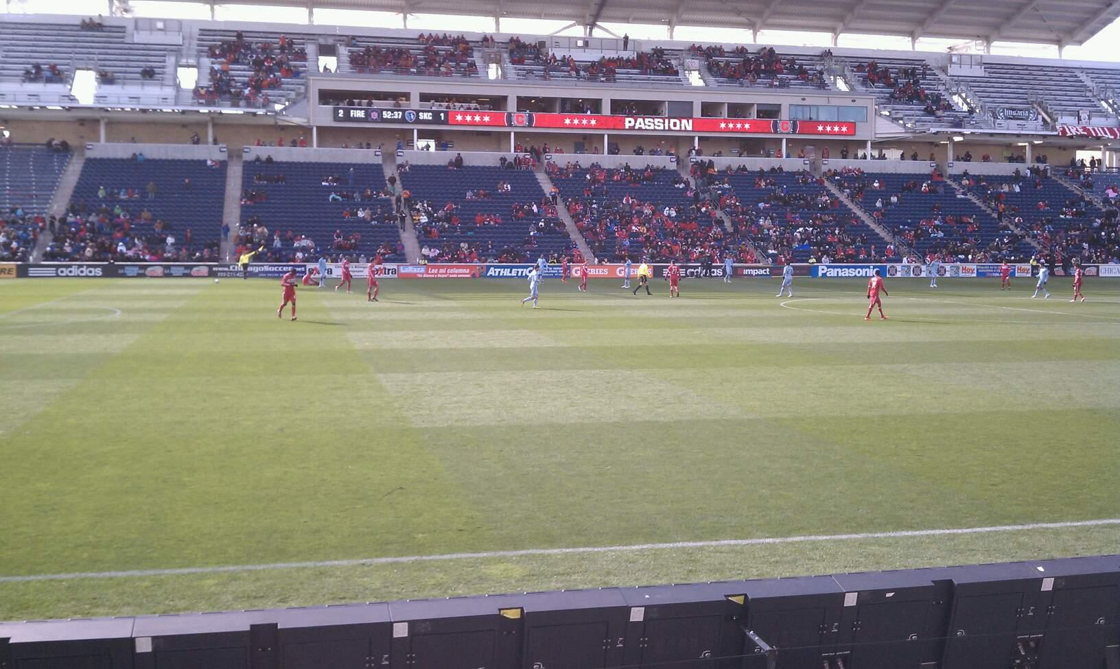 Toyota Park Section 130 Row 5 Seat 19